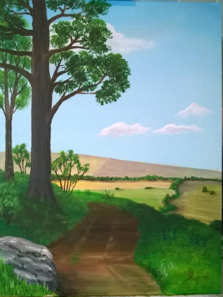 überarbeites-Acrylbild-mit-Felsen