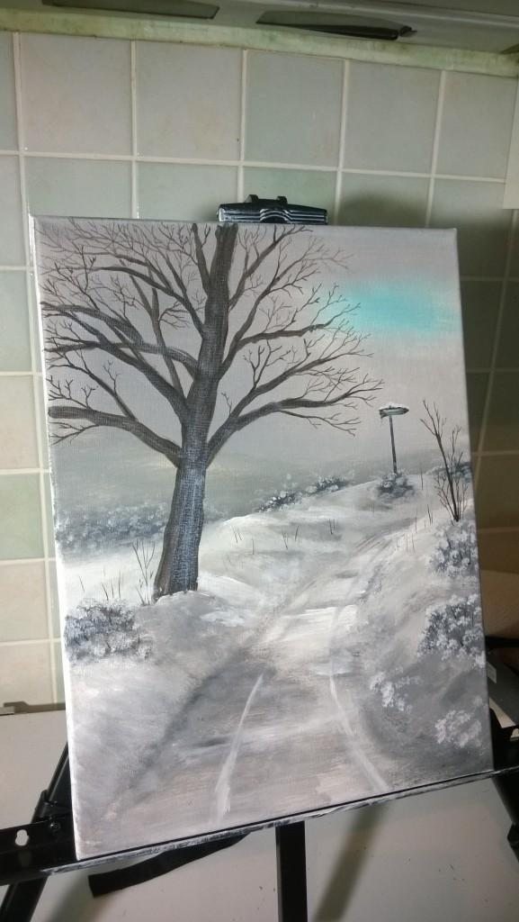 22-Verschneiter-Wanderweg-mit-Baum
