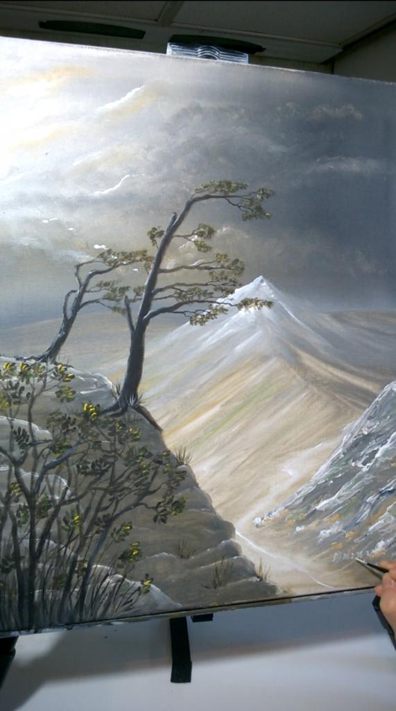 14-Malkurs-Acryl-Windfluechter-im-Gebirge