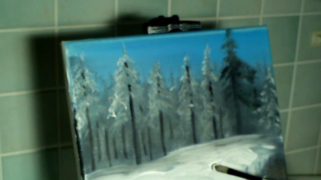 4-Winterwald-mit-kleinem-Fluss