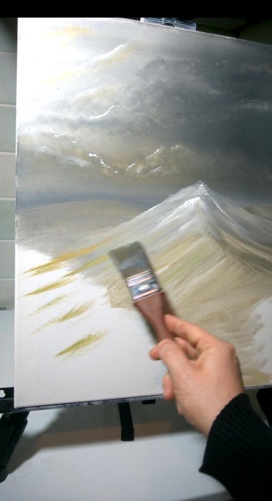 5-Malkurs-Acryl-Windfluechter-im-Gebirge