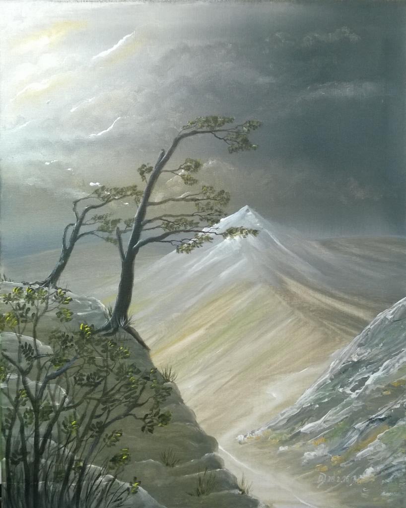 Malkurs-Acryl-Windfluechter-im-Gebirge