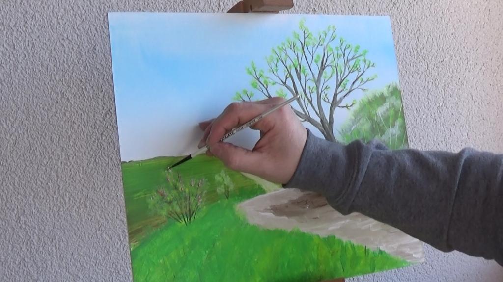 11-Fruehlingsbild-mit-Weg-und-Baum