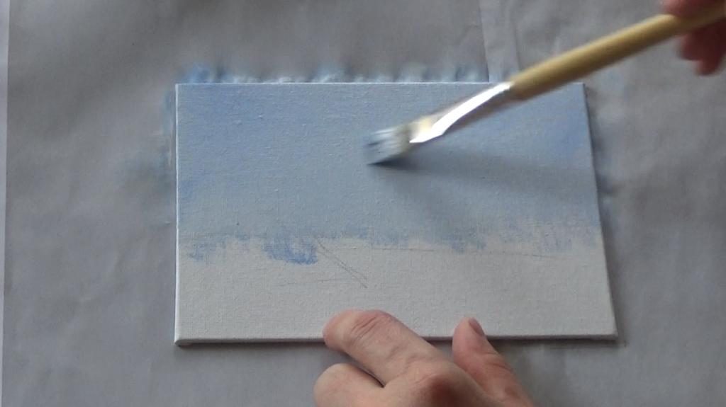 1-Malkurs-acrylfarben-Auf-der-sommerlichen-Waldlichtung
