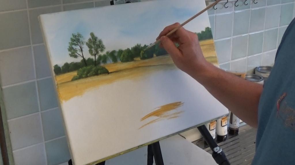 10-Malkurs-Acryl-Sommerliche-Wiesenlandschaft