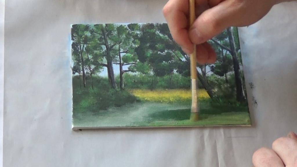 13-Malkurs-acrylfarben-Auf-der-sommerlichen-Waldlichtung