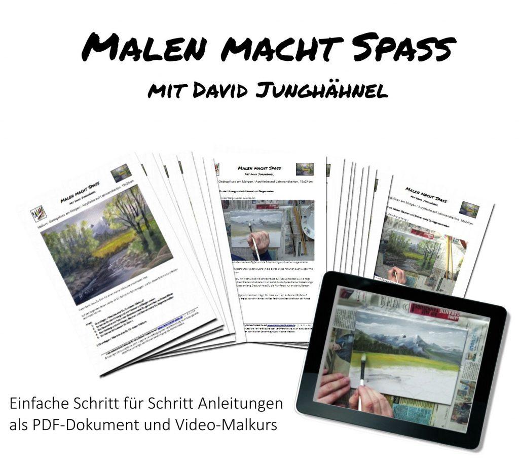 Malkurs Kunstkurs für Acrylfarben günstig online buchen
